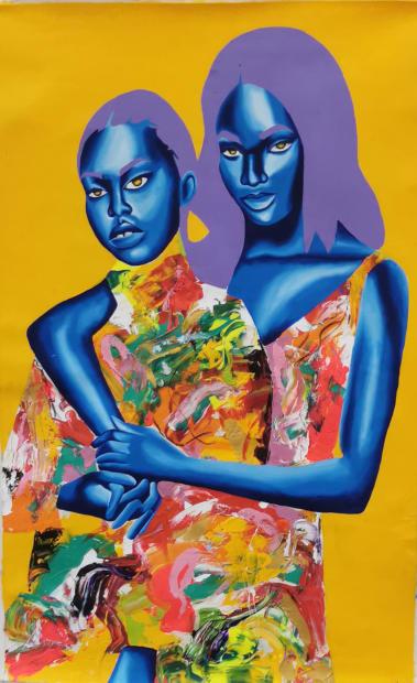 Bara Sketchbook, The Sisters Part 3, 2021