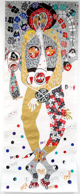 Ernest Dükü, Footprints, Ace of spade @ YA FO LOGO, 2018