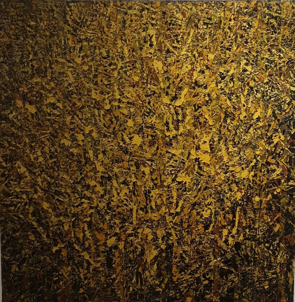 Ablade Glover, Yellow Forest, 2015