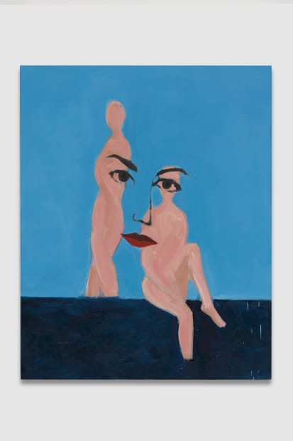 Figure/Face (Double Figure), 2020
