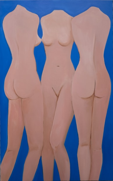 Three Graces as Mannequins, 2020