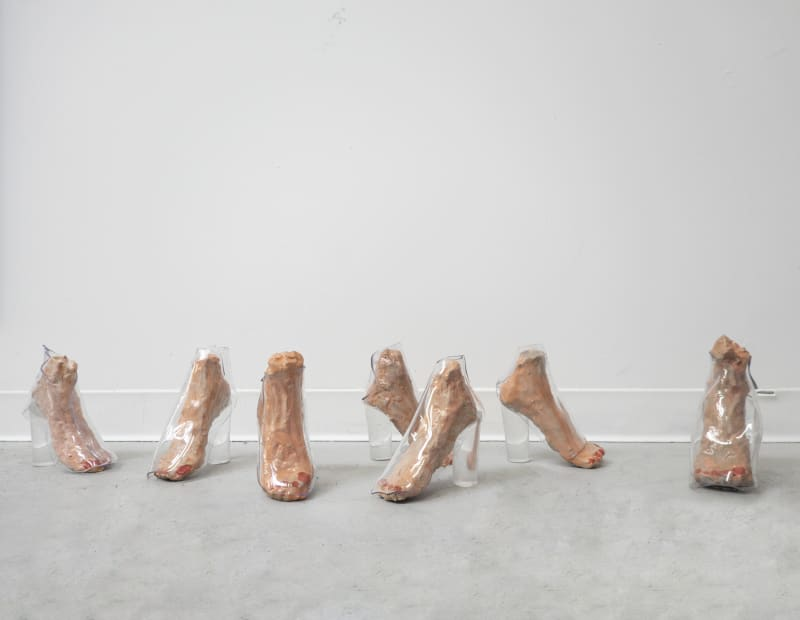 Untitled (feet scupture), 2020