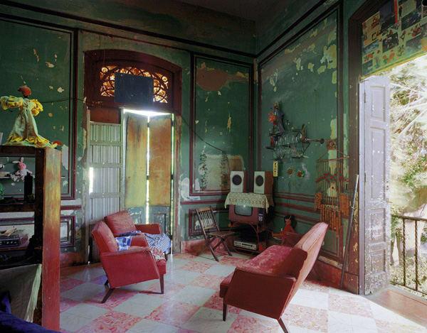 Ciudadela, formerly the house of Countess O'Reilly, the Condesa de Buenavista, Miramar, Havana, 1997