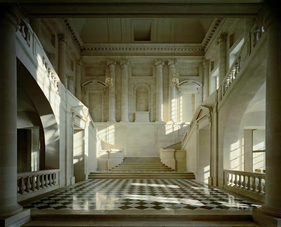 Escalier de l'Aile Gabriel, Chateau de Versailles, 1985