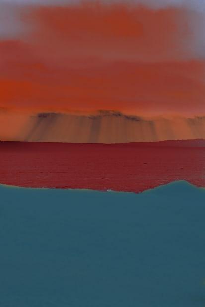 Tri-Colour Seascape, 2020