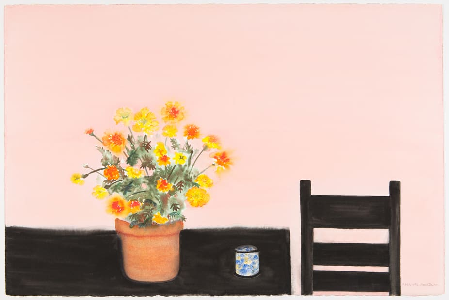 Marigolds and Chair, c. 2008