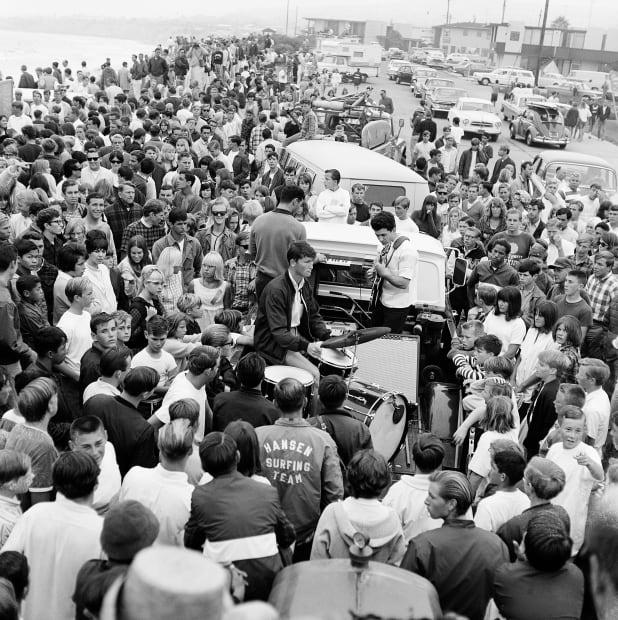 Roy Porello, Concert, Pacific Beach, 1965