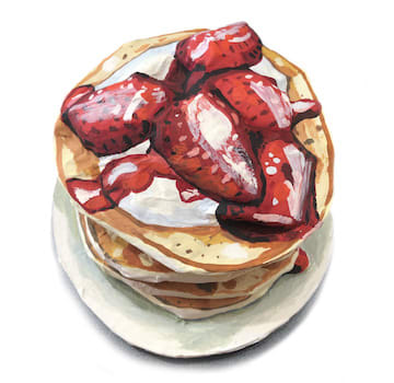 Jean Lowe, Pancakes!, 2018