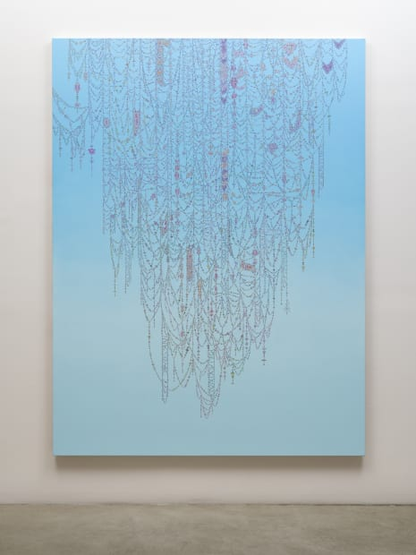 Veil (Medium Blue to Light Blue), 2019