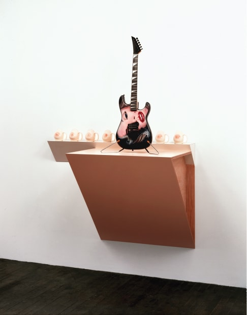 Untitled (breast mugs, Marilyn guitar) I-2, 1990