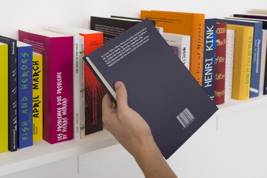 Phantom Library [detail], 2011-2012