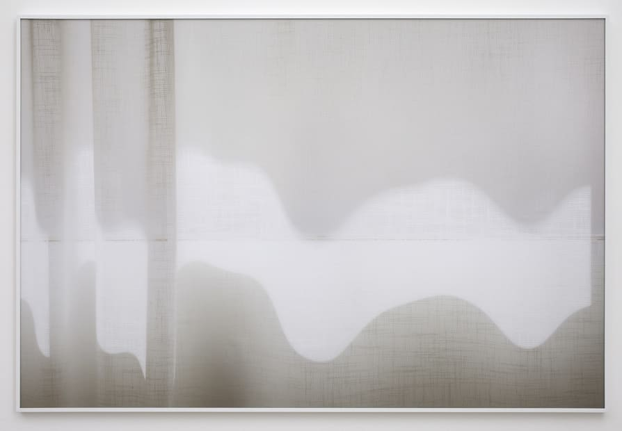 ... and to draw a bright white line with light (Untitled 11.9), 2011