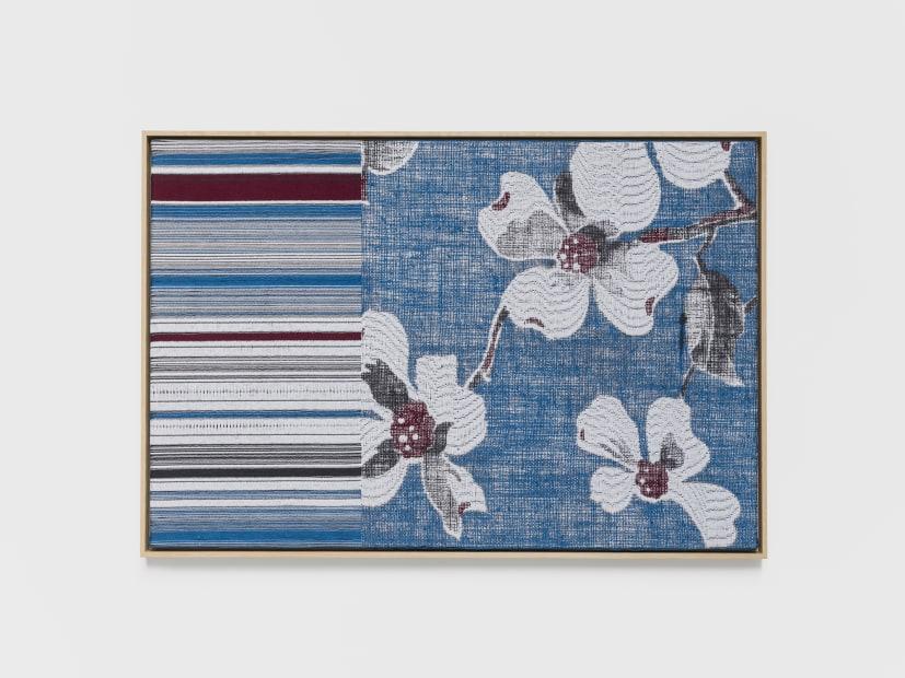 Jacquard Weave (Apple Blossoms), 2017