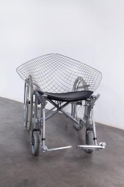 Bertoia Wheelchair, 2012