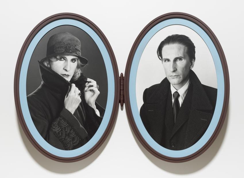 Me as Madame and Monsieur Duchamp, 2018
