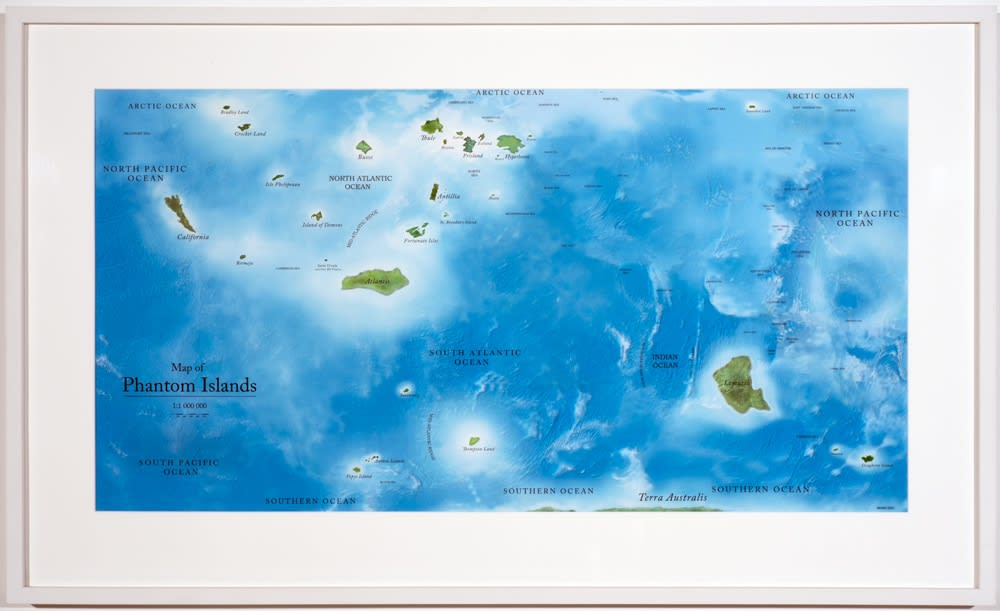 Map of Phantom Islands, 2011