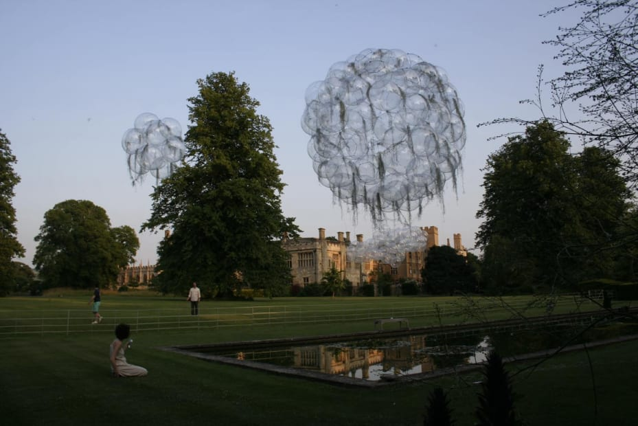 Installation at the Gardens of Sudeley Castle, Winchcombe, UK, 2006