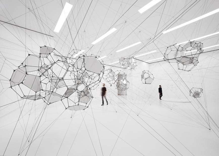Installation view, Stillness in Motion — Cloud Cities, Museum of Modern Art, San Francisco, 2016