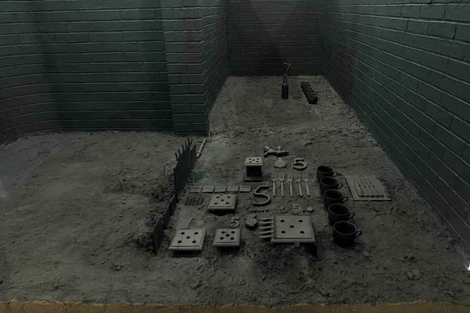 Nocturnal City Scene [detail], 1993-2006