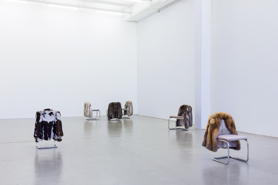 Installation view, WOMEN BETWEEN BUILDINGS, Kunstverein in Hamburg , 2018
