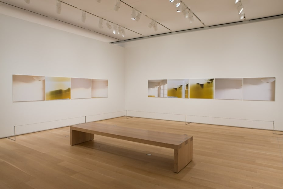 Installation view Uta Barth, The Art Institute of Chicago, 2011