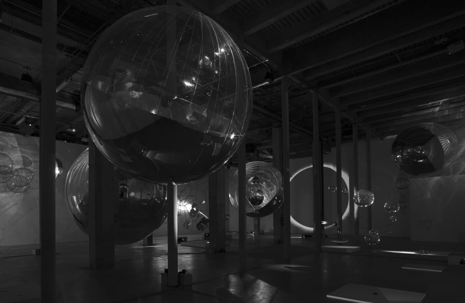 Installation view, ON AIR, Palais de Tokyo, Paris, France, 2018
