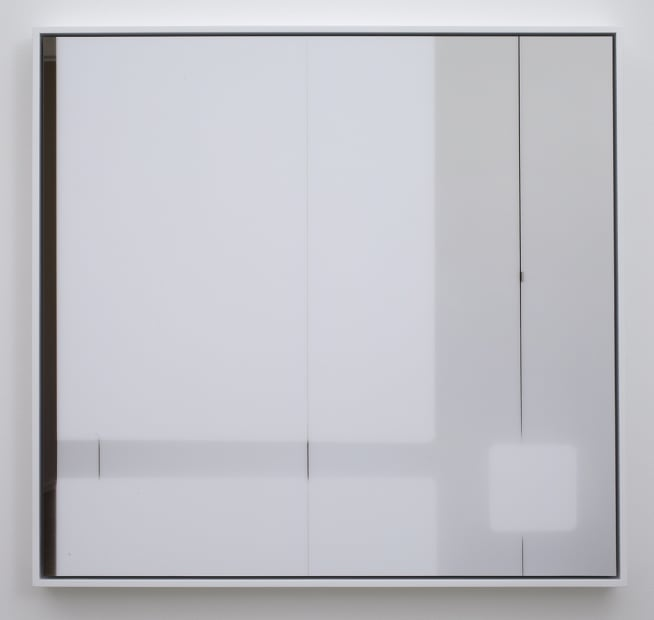 Compositions of Light on White (Composition #2), 2011
