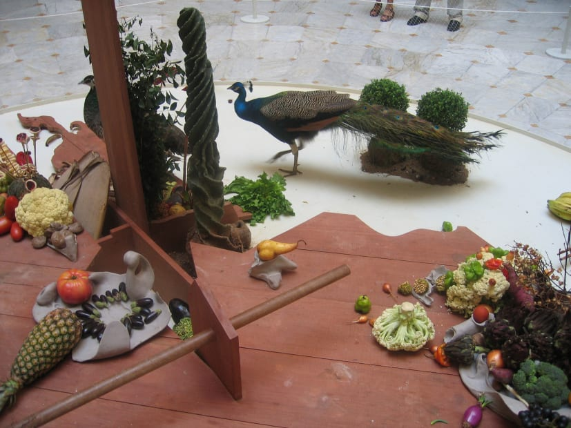 Pheasants with Food [detail], 2005/2006