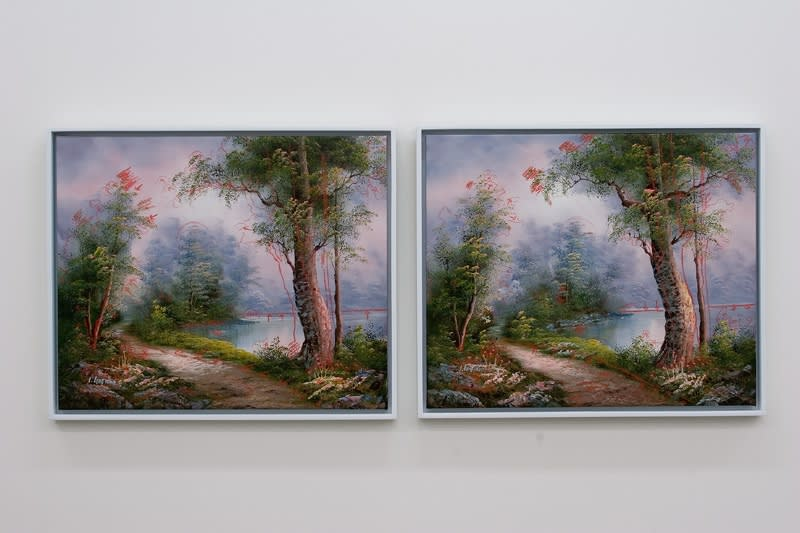 Landscape (Two Different Reproductions), 2005