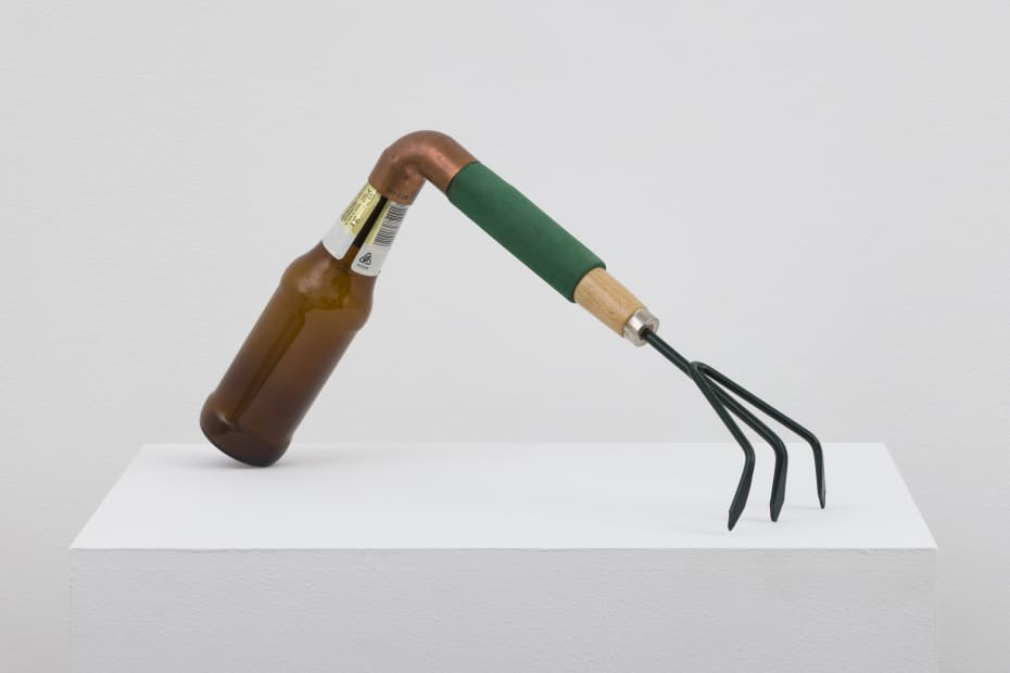 Catachresis #74 (Teeth of the rake, elbow of the pipe, neck of the bottle), 2016