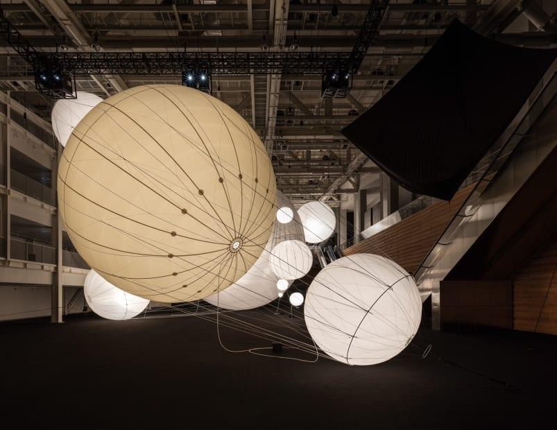 Installation view, Our Interplanetary Bodies, ACC - Asia Culture Center, Gwangju, South Korea, 2017