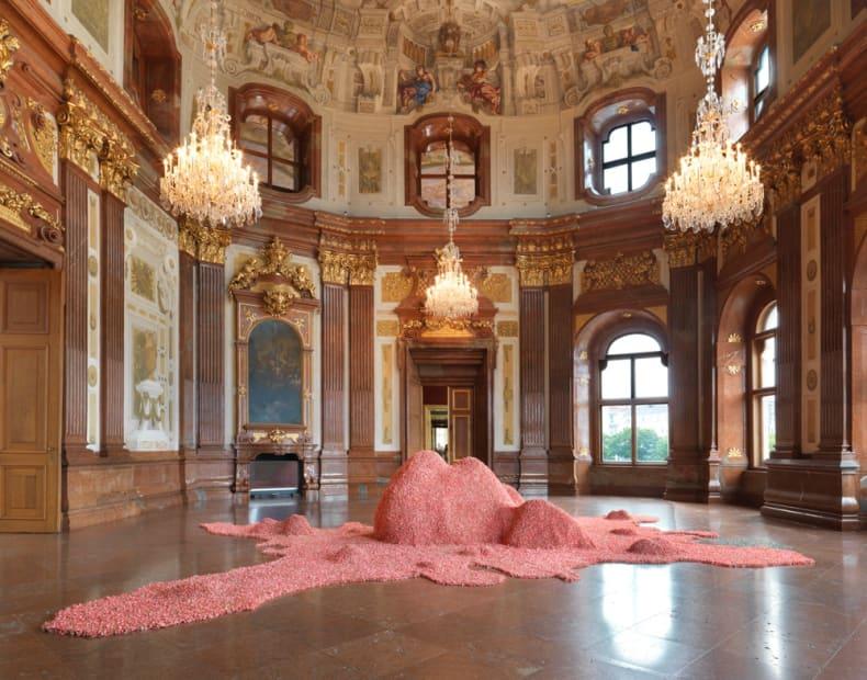 installation view, TBA 21 Contemporary, Augarten, Vienna, Austria, 2015