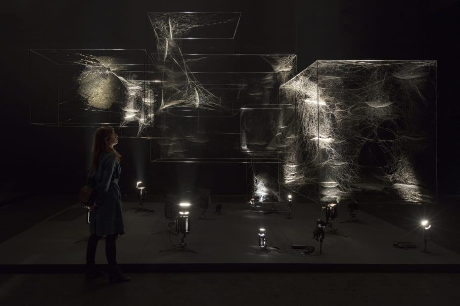 Installation view, ON AIR, Palais de Tokyo, Paris, France, 2018