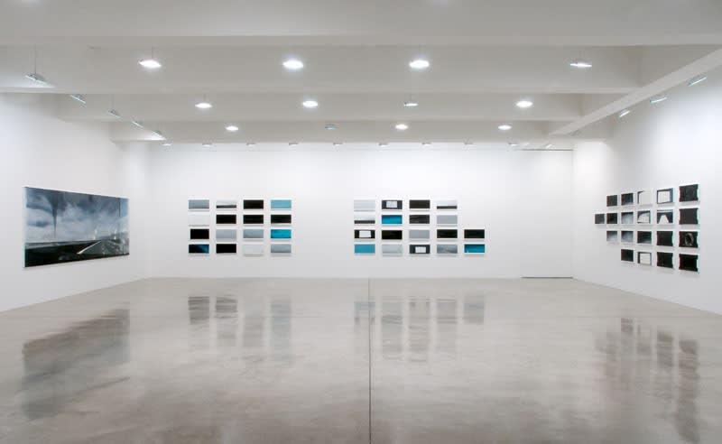 Installation view, Tanya Bonakdar Gallery, 2009