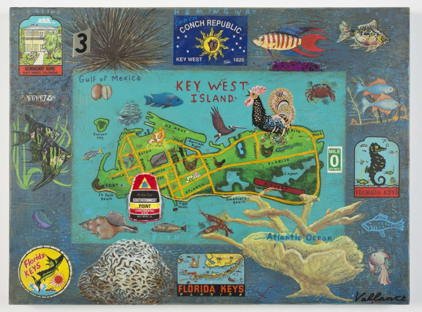 Tourist Map of Key West #3, 2013