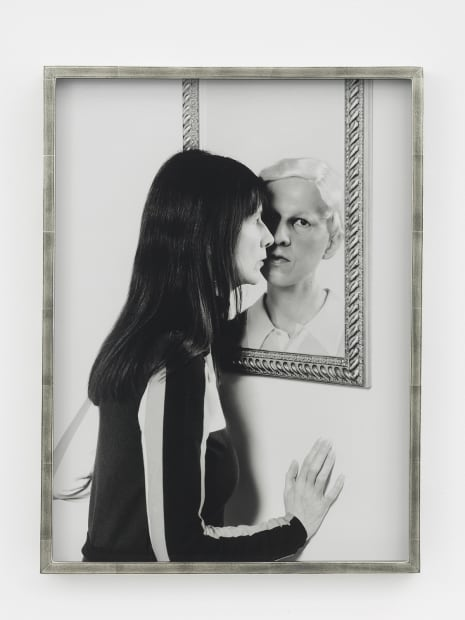 Me and Claude in Mirror, 2017