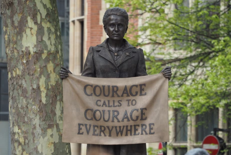 PERMANENT INSTALLATION: Millicent Fawcett, Parliament Square, London, 2019