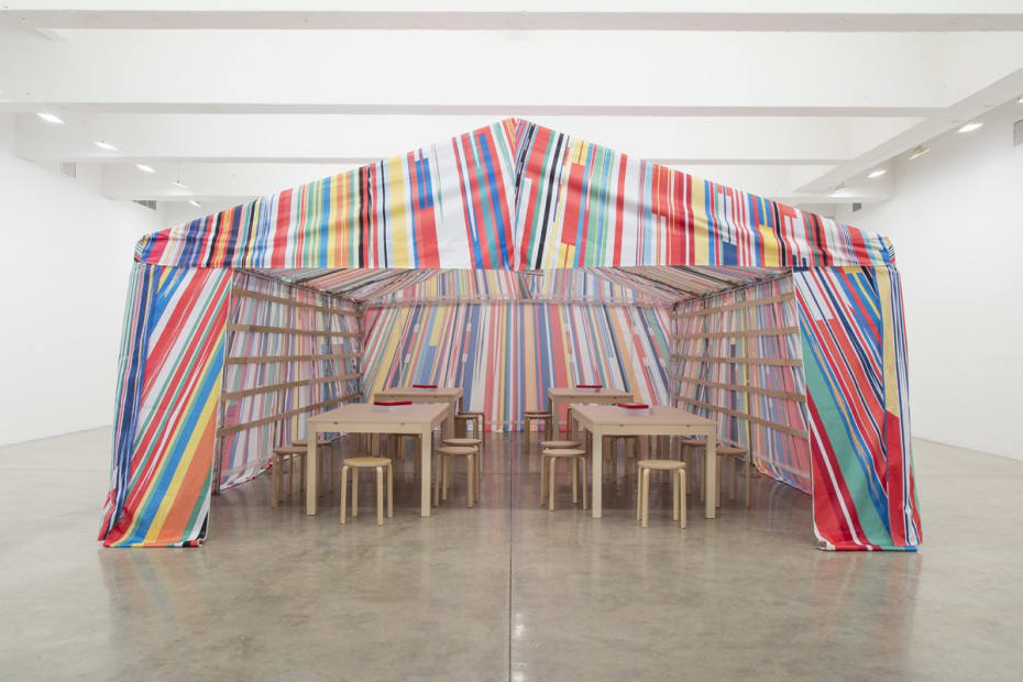 Reflection Room Tent, 2016