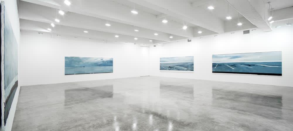 Installation view, Tanya Bonakdar Gallery, 2007