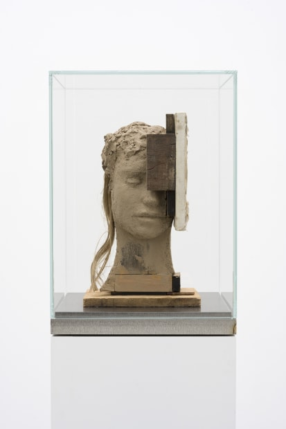 Head with White Painting, 1989-2020