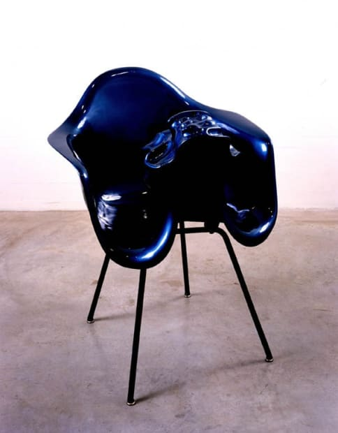 Untitled (Metallic blue), 1993-1995