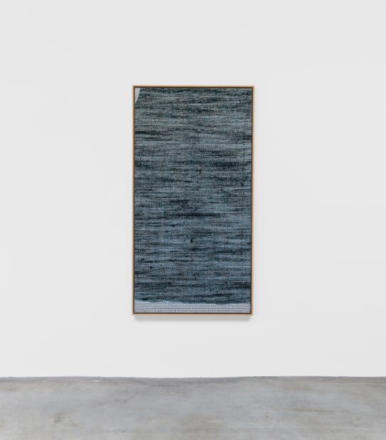 Jacquard Weave (Denim, Version I),, 2017