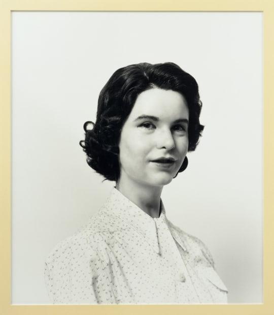 Self Portrait as My Mother Jean Gregory, 2003