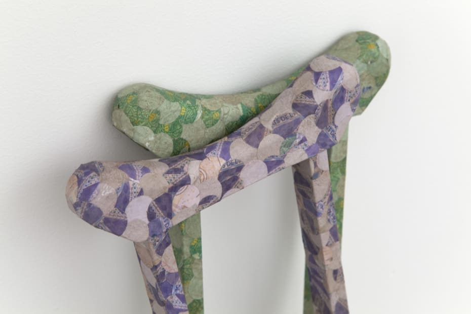 Bequilles Economiques (economical crutches) [detail], 2013