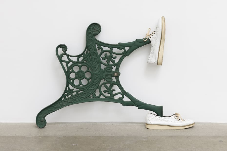 vCatachresis #88 (Legs of the chair, arm of the chair, eye of the potato, tongues of the shoes), 2016