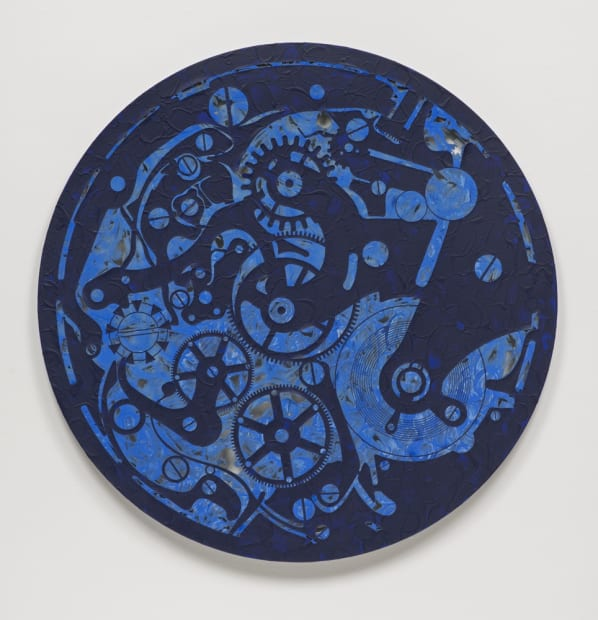 Ultramarine Pocket Watch #2, 2014