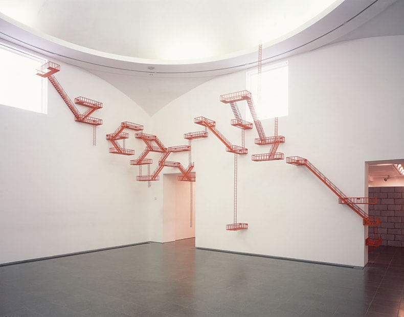 Second Means of Egress (Orange), 2004