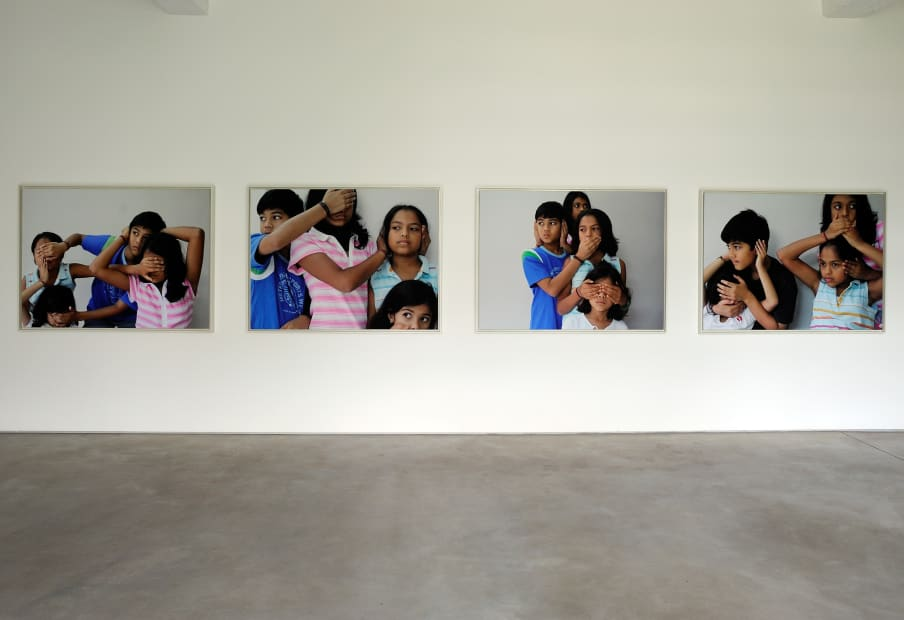 Untitled (Don't See, Don't Hear, Don't Speak), 2006-2008