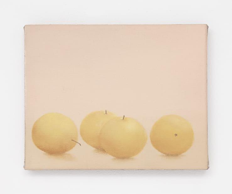 Orange pears, 2018