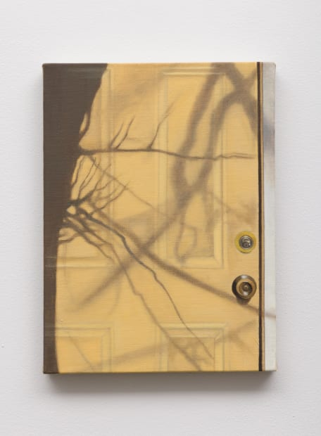 Yellow door, 2021